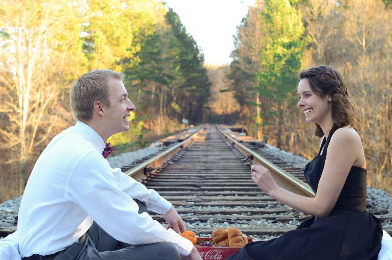 Engagement shoot. Photos by Rachael Adams photography.